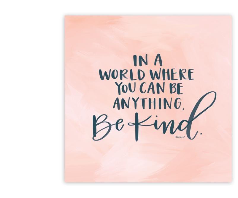 be kind full